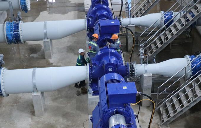 Nhà máy nước sạch lớn nhất miền Bắc sắp hoạt động