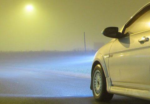 Đèn sương mù hữu dụng không chỉ trong điều kiện thời tiết có sương mù.