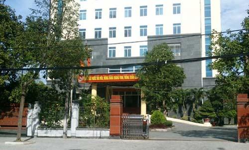 Sở Tài nguyên và Môi trường tỉnh Thanh Hoá. Ảnh: Lam Sơn.