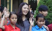 Cô giáo 16 năm dạy trẻ khuyết tật
