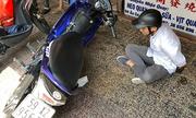 Đặc nhiệm Sài Gòn đạp ngã tên cướp điện thoại của nữ sinh