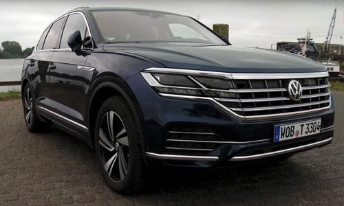 Volkswagen Touareg 2019 dau tien ve Viet Nam