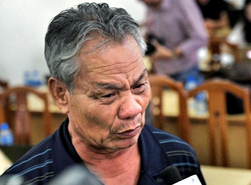 Ông Nguyễn Văn Thạch. Ảnh: Hữu Khoa.