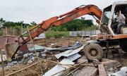 Hải Phòng phá dỡ công trình trái phép trên đất quốc phòng