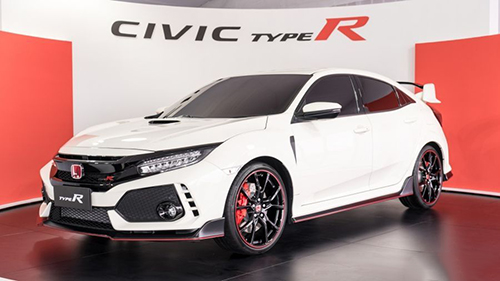 Civic Type R trong lễ ra mắt tại Malaysia. Ảnh: Paultan.