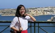 Cô gái 9x đi 40 nước, tốt nghiệp thạc sĩ xuất sắc ở Anh