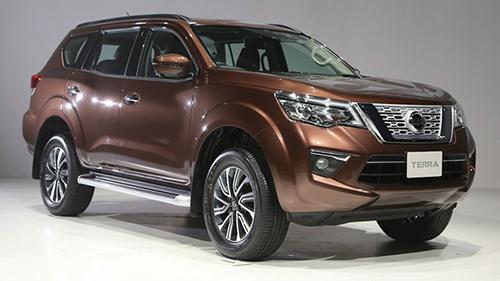 Nissan Terra trong lễ ra mắt tại Thái Lan. Ảnh: Mototrivia.
