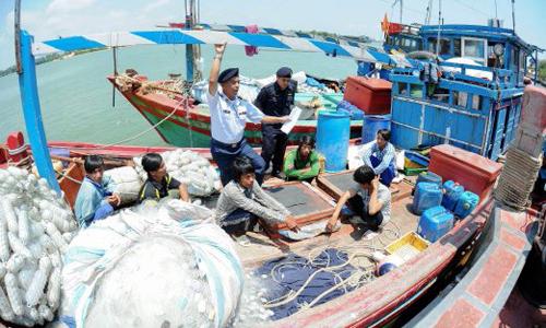 Malaysia bắt 39 ngư dân Việt bị cáo buộc đánh bắt trái phép -