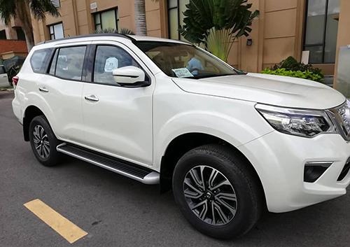 SUV của Nissan sẽ trưng bà y tại triển lãm ôtô Việt Nam tuần sau. Ảnh: Nguyễn Bắc