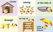 Giới từ chỉ vị trí và phương hướng trong tiếng Anh
