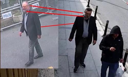 Thổ Nhĩ Kỳ tiết lộ video đặc vụ Arab đeo râu giả, mặc đồ của Khashoggi