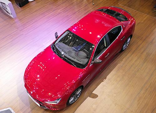 Maserati ra mat loat xe moi tai Vietnam Motor Show 2018