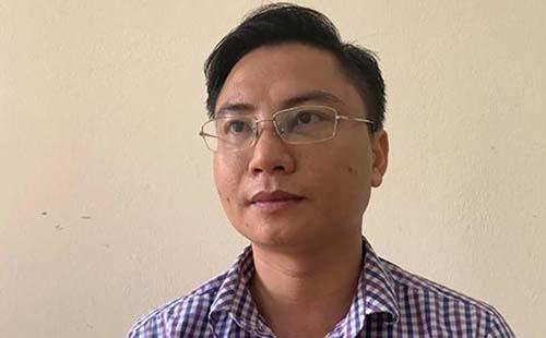 Nghi can Ngô Văn Khích. Ảnh: C.A.