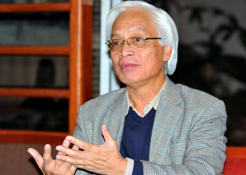 Ông Chu Hảo, Giám đốc - Tổng biên tập Nhà xuất bản Tri thức. Ảnh: Nhật Minh