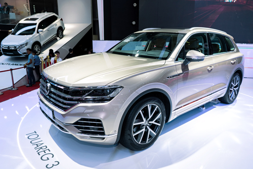 Volkswagen Touareg tại VMS 2018.