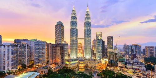 Một góc thủ đô Kuala Lumpur của Malaysia. Ảnh: JLT