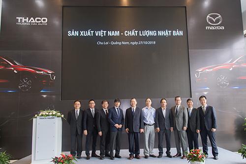 Ôtô Mazda sản xuất tại Việt Nam, chất lượng Nhật Bản - 1