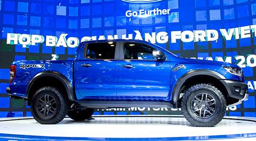 Ford va cuoc choi toan xe gam cao tai Viet Nam
