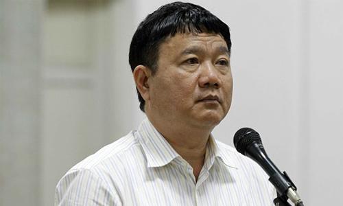 20 tỷ đồng được nộp trong vụ án liên quan ông Đinh La Thăng