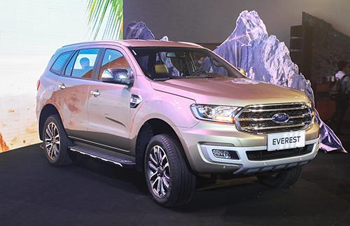 Ford Ranger Everest tai Viet Nam khong loi hop so nhu o Thai Lan
