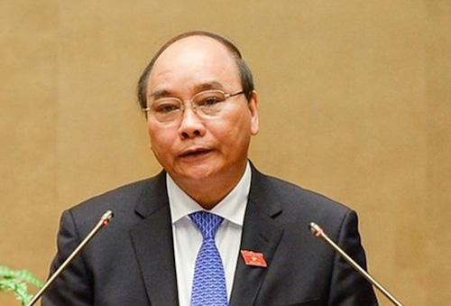 Thủ tướng Nguyễn Xuân Phúc. Ảnh: QH