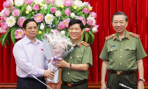 Tướng Nguyễn Văn Sơn tham gia Đảng ủy Công an trung ương