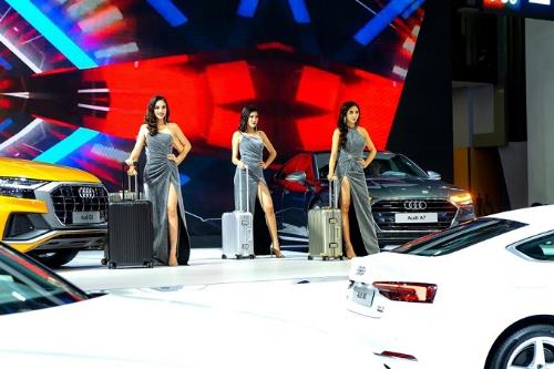 Audi va Rimowa ket hop trinh dien tai Trien lam Oto Viet Nam 2018
