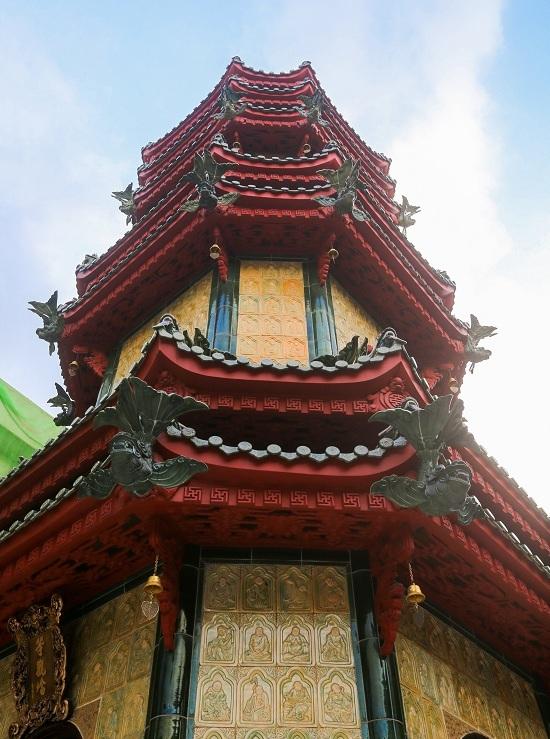 Ngôi chùa có tháp bằng gốm cao nhất Việt Nam
