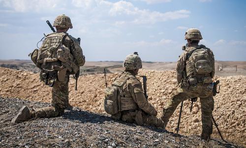 Lính Mỹ triển khai tại Syria đầu năm 2018. Ảnh: Reuters.