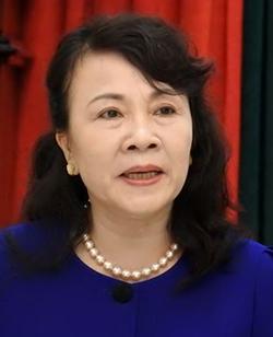 Thứ trưởng Bộ Giáo dục và Đào tạo Nguyễn Thị Nghĩa.