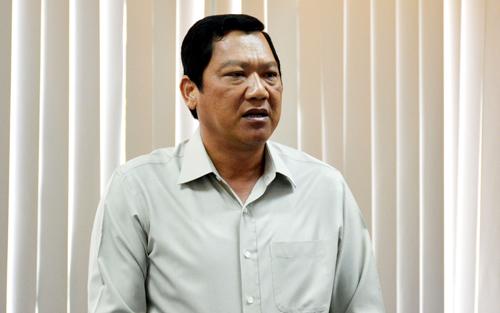 Phó chủ tịch UBND tỉnh Cà Mau Lâm Văn Bi. Ảnh: Hoàng Hạnh.