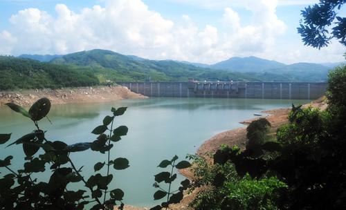 Một nhà máy thủy điện được xây dựng ở Quảng Nam. Ảnh: Đắc Thành.