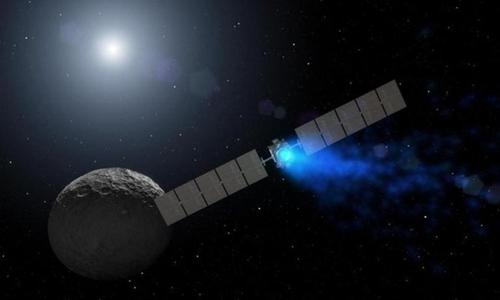 Tàu vũ trụ Dawn dừng hoạt động sau 11 năm khám phá không gian. Ảnh: Forbes.