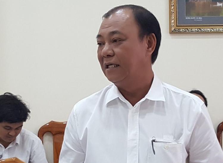 Ông Lê Tấn Hùng bị cảnh cáo