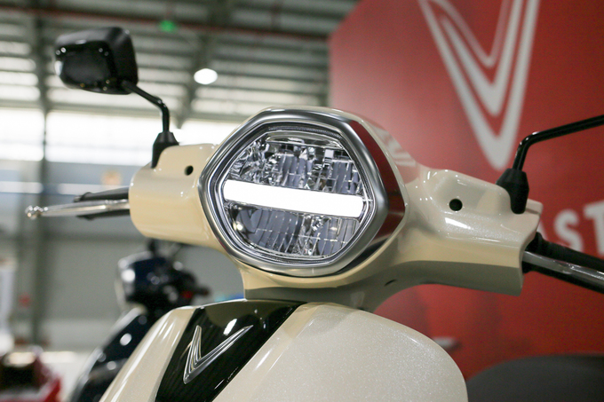 Thiết kế Italy của cặp đôi xe máy VinFast
