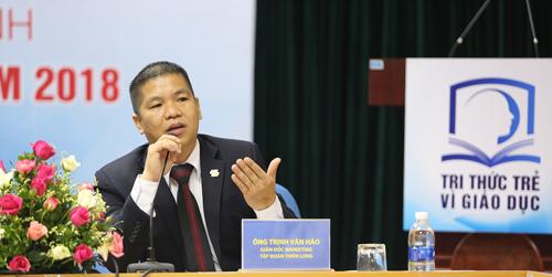Ông Trịnh Văn Hào, Giám đốc Marketing Tập đoàn Thiên Long.