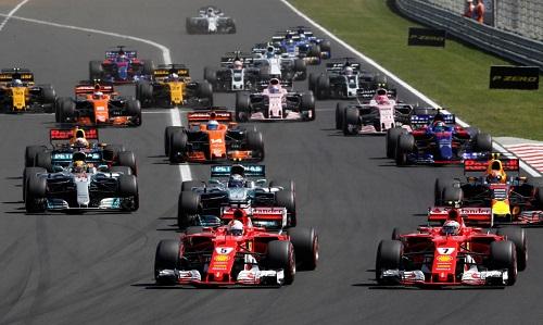 Một vòng đua của giải F1. Ảnh: Reuters.