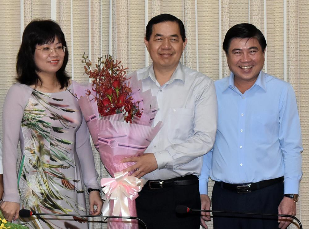 Giám đốc Sở Kế hoạch - Đầu tư TP HCM làm Bí thư quận Gò Vấp