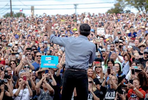 Ứng viên đảng Dân chủ Beto ORourke chạy đua ghế thượng nghị sĩ bang Texas