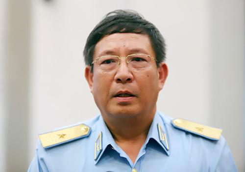 Thiếu tướng Bùi Anh Chung cho biết phía Mỹ sẽ tiếp tục phối hợp xử lý dioxin tại sân bay Biên Hoà. Ảnh: Nguyễn Đông.