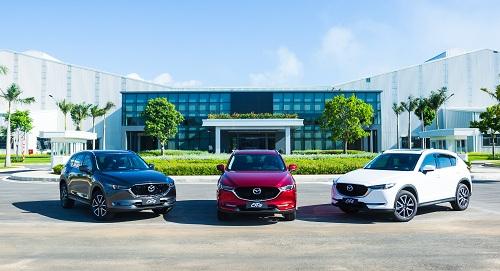 Mazda Viet Nam cong bo muc gia cho loat xe mau moi