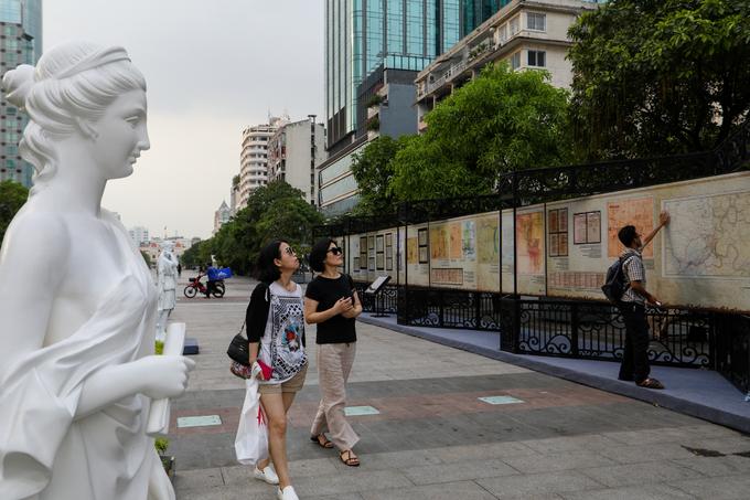 Dấu ấn kiến trúc Pháp trên phố đi bộ ở Sài Gòn
