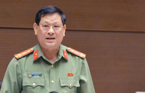 Representative of Nguyen Huu Cau. Photo: Hoang Phong.