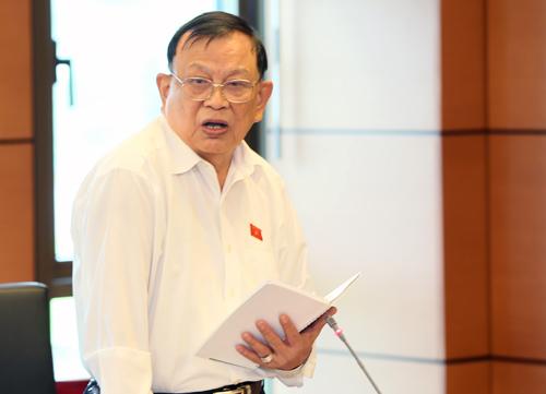 Representative Nguyen Van Duoc. Photo: Hoang Phong.