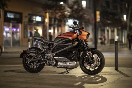 Harley-Davidson trinh lang moto dien