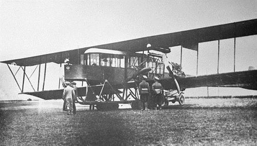 Máy bay S-21 Russky Vityaz trong quá trình thử nghiệm năm 1913. Ảnh: RBTH.