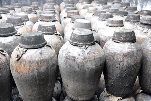 Loại bình thường dùng để đựng rượu ở Trung Quốc thời xưa. Ảnh: Newsweek.