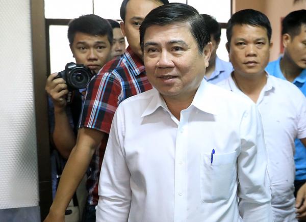 Chủ tịch TP HCM: 'Tôi thật tâm muốn giải quyết vụ việc Thủ Thiêm'