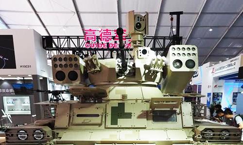 Tháp pháo của xe chiến đấu QN-506. Ảnh: Popular Mechanics.