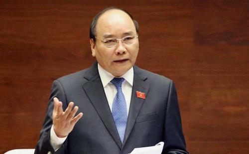 Thủ tướng Nguyễn Xuân Phúc. Ảnh: Hoàng Phong